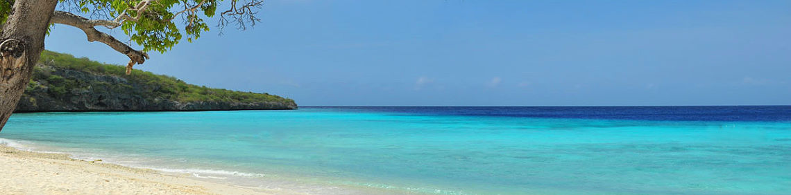 Beautiful beaches from CURACAO