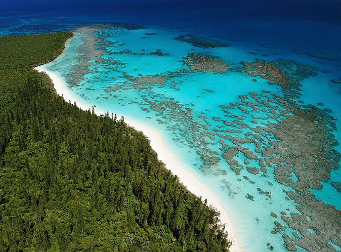 Pines island, Bay of Oro, New Caledonia, Pacific Ocean